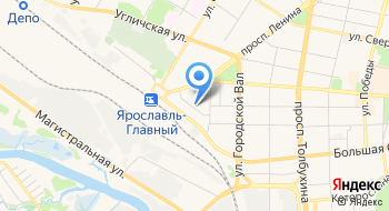 Государственное учреждение - Отделение Пенсионного фонда Российской Федерации по Ярославской области на карте