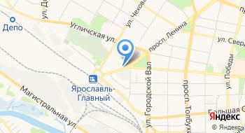Эротический массаж Ярославль ЖаРа на карте