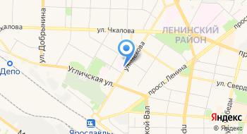 Дорожно-клиническая больница на ст. Ярославль РЖД на карте