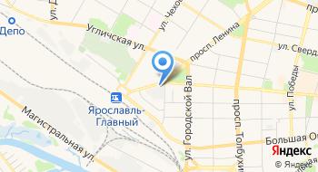 Ярославский полиграфический комбинат на карте