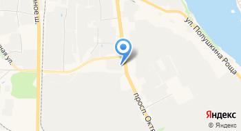 Ярославский картон на карте