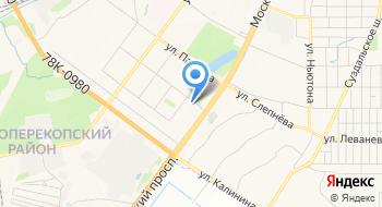 Ярнефтехимстрой на карте
