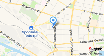 Яргорэлектротранс депо №1 на карте