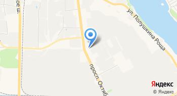 Компания Линия на карте