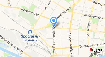 Территориальный Орган Федеральной Службы Государственной Статистики по Ярославской области на карте