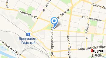 Ярославская областная торгово-промышленная палата на карте