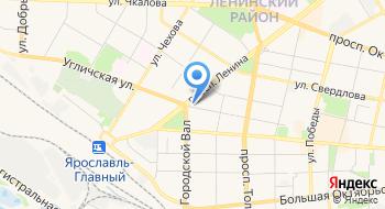 Ярославская торгово-промышленная палата, центр делового образования на карте