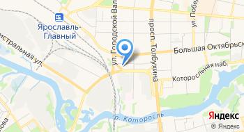 Федерация практической стрельбы Ярославской области, Рсоо ФПСЯрО ОО на карте