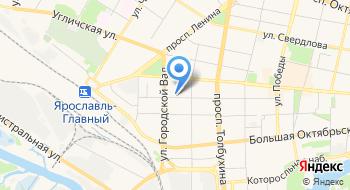 ПФР, управление Пенсионного Фонда РФ государственное учреждение в Ярославском муниципальном районе Ярославской области на карте