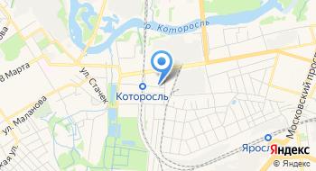 ОГИБДД Ярославского Омвд России на карте