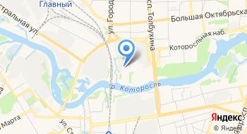 ГУЗ ЯО Станция скорой медицинской помощи на карте
