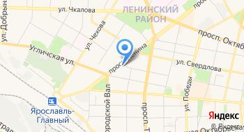 Управдом Кировского района, паспортный стол на карте
