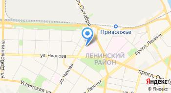 Отдел Государственной фельдъегерской службы Российской Федерации в Ярославле на карте