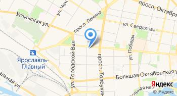 Ярославская служба доставки на карте