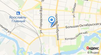 Столбы Октябрьский на карте