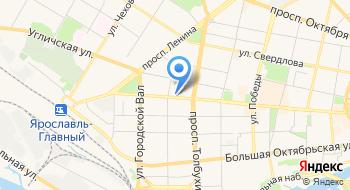 Прокуратура Ярославского района Ярославской области на карте