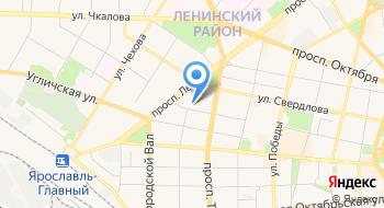 Телекомпания Ярославия на карте
