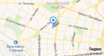ФГУП ГТРК Ярославия на карте