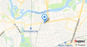 Отдел полиции Красноперекопский УМВД России по г. Ярославлю на карте