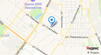 ГУЗ ЯО Клиническая больница № 8 Детская поликлиника № 1 на карте