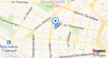Ярославская таможня на карте