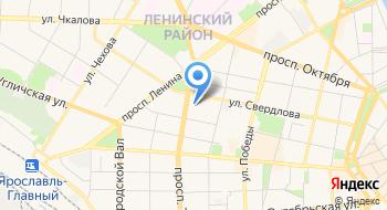 Управление Росреестра по Ярославской области на карте