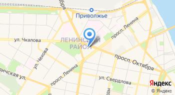 Отдел Управления Федеральной миграционной службы России в Ленинском районе г. Ярославля на карте