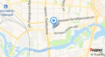 Исследовательская компания Социс на карте