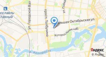 Отдел ПФР в Кировском и Ленинском районах г. Ярославля без образования юридического лица на карте