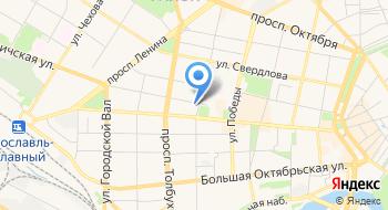 Компания Яртрансфер на карте