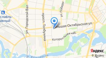 Комплекс-бар Ярославль на карте