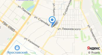 Ярославская строительная экспертиза на карте