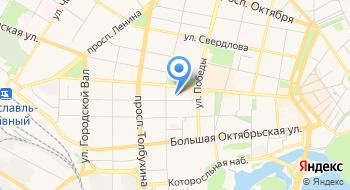 Радиостанция Love радио Ярославль на карте