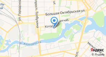 Концертно-зрелищный центр на карте