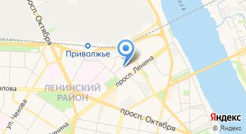 Ярославская областная клиническая психиатрическая больница, диспансерное отделение для детей на карте