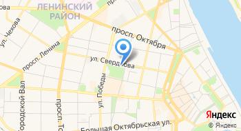 Ярославская областная универсальная научная библиотека имени Н. А. Некрасова Гаук ЯО на карте