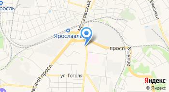 ОСП по Фрунзенскому и Красноперекопскому районам г. Ярославля на карте