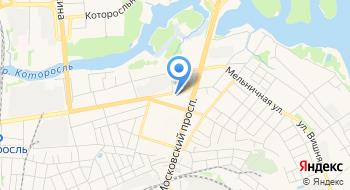 Управление Пенсионного фонда РФ в г. Ярославле на карте