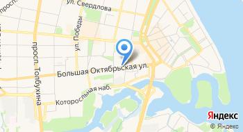 Ярославский городской джазовый центр на карте