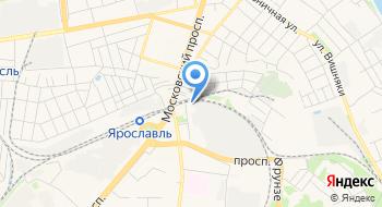 Ярославский электровозоремонтный завод им. Б. П. Бещева на карте