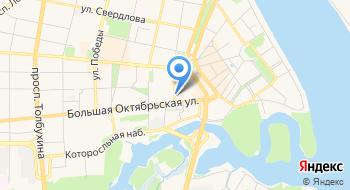 Отдел полиции Кировский УМВД России по г. Ярославлю на карте