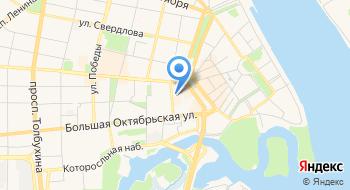 Кировский районный суд города Ярославля на карте