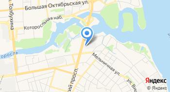 Ярославское общество сознания Кришны на карте
