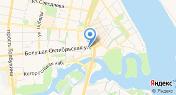 Экскурсии по Ярославлю на карте