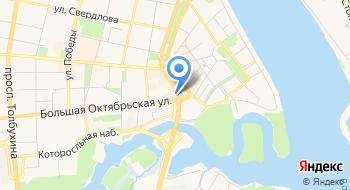 Альфа-Банк. Кредитно-кассовый офис Ярославль-Рождественский на карте