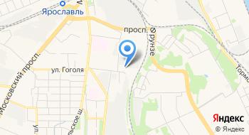 Управление ГИБДД УМВД России по Ярославской области на карте