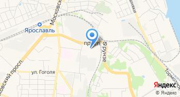 Ярославский таможенный пост ФТС ЦТУ Ярославской таможни на карте