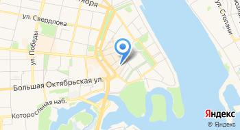 Центр г. Ярославля на карте