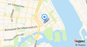 Ярославский Визовый центр на карте