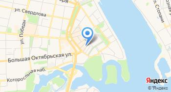 Ярославская фабрика волос на карте